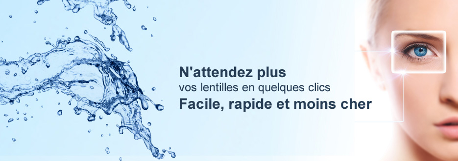 Lentilles de contact : notre gamme