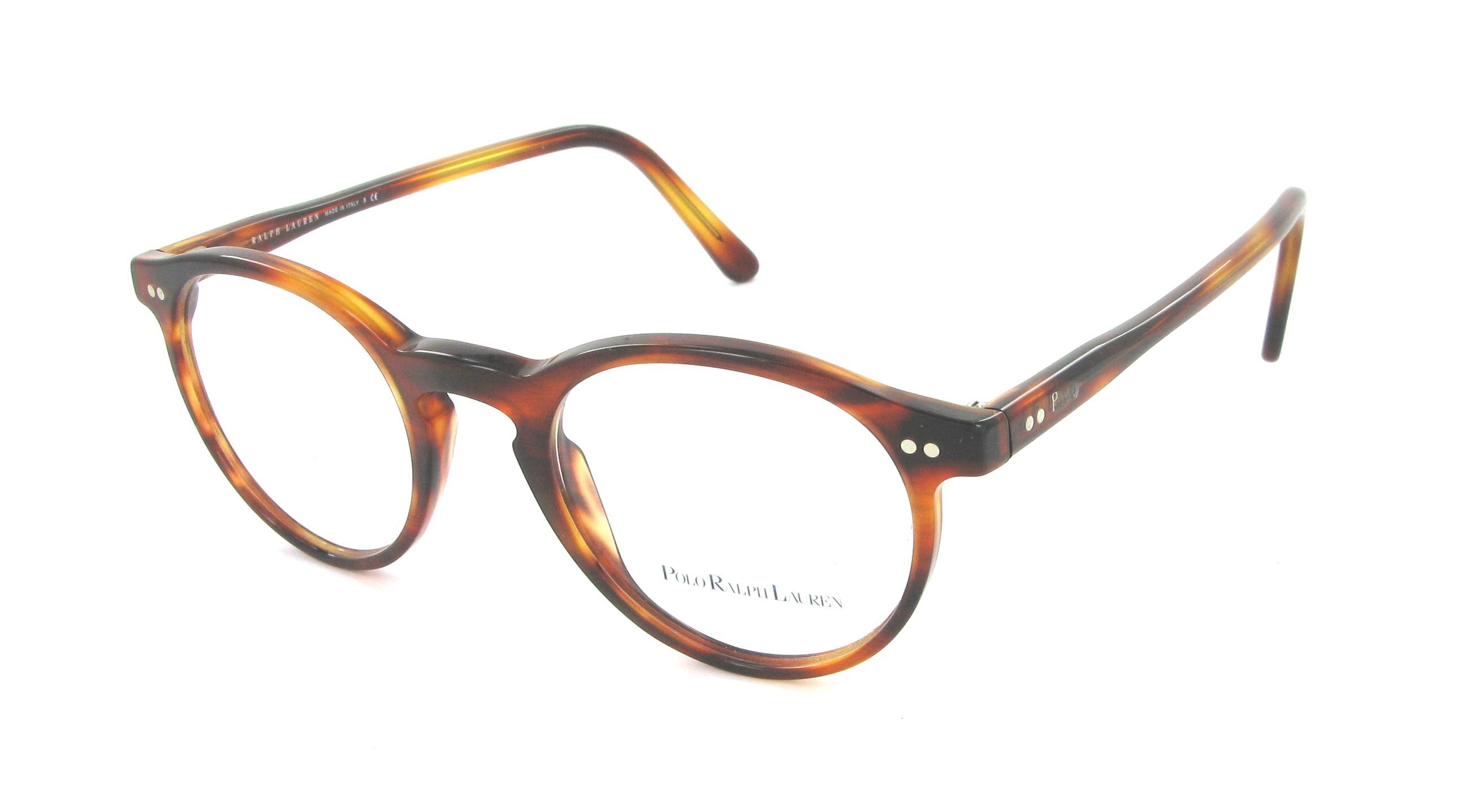 lunettes de vue ralph lauren ph 2083 5007 48 20 mixte ecaille arrondie cercl e tendance. Black Bedroom Furniture Sets. Home Design Ideas