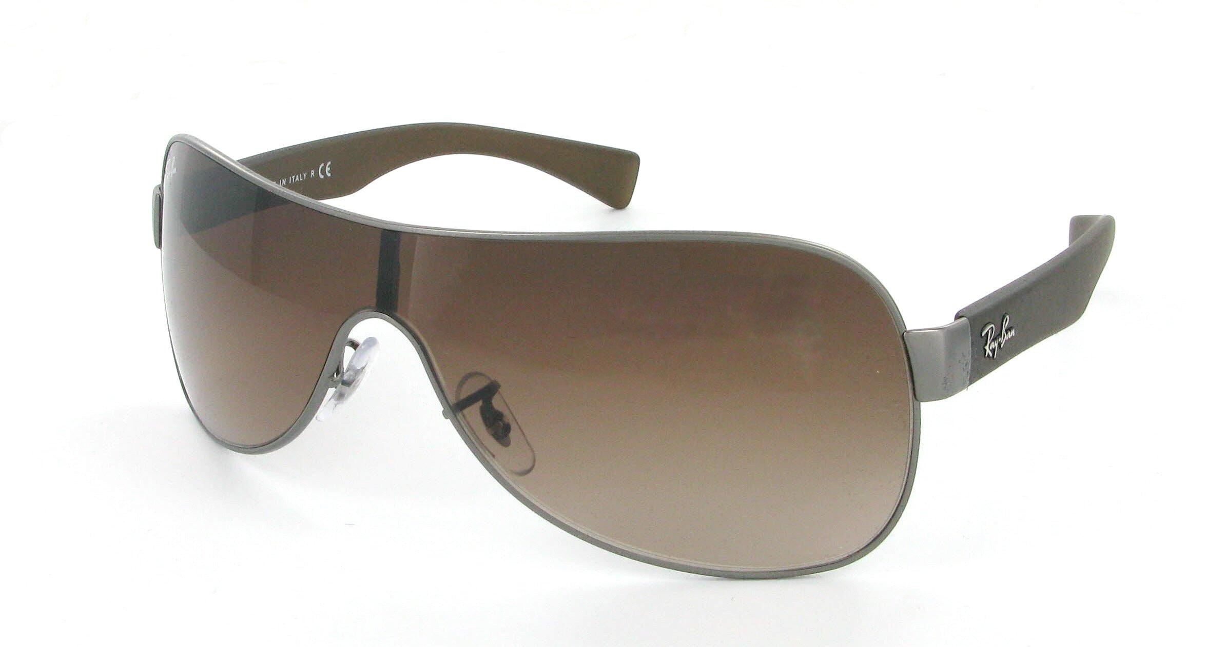lunettes de soleil ray ban rb 3471 029 13 99 32 mixte gun. Black Bedroom Furniture Sets. Home Design Ideas
