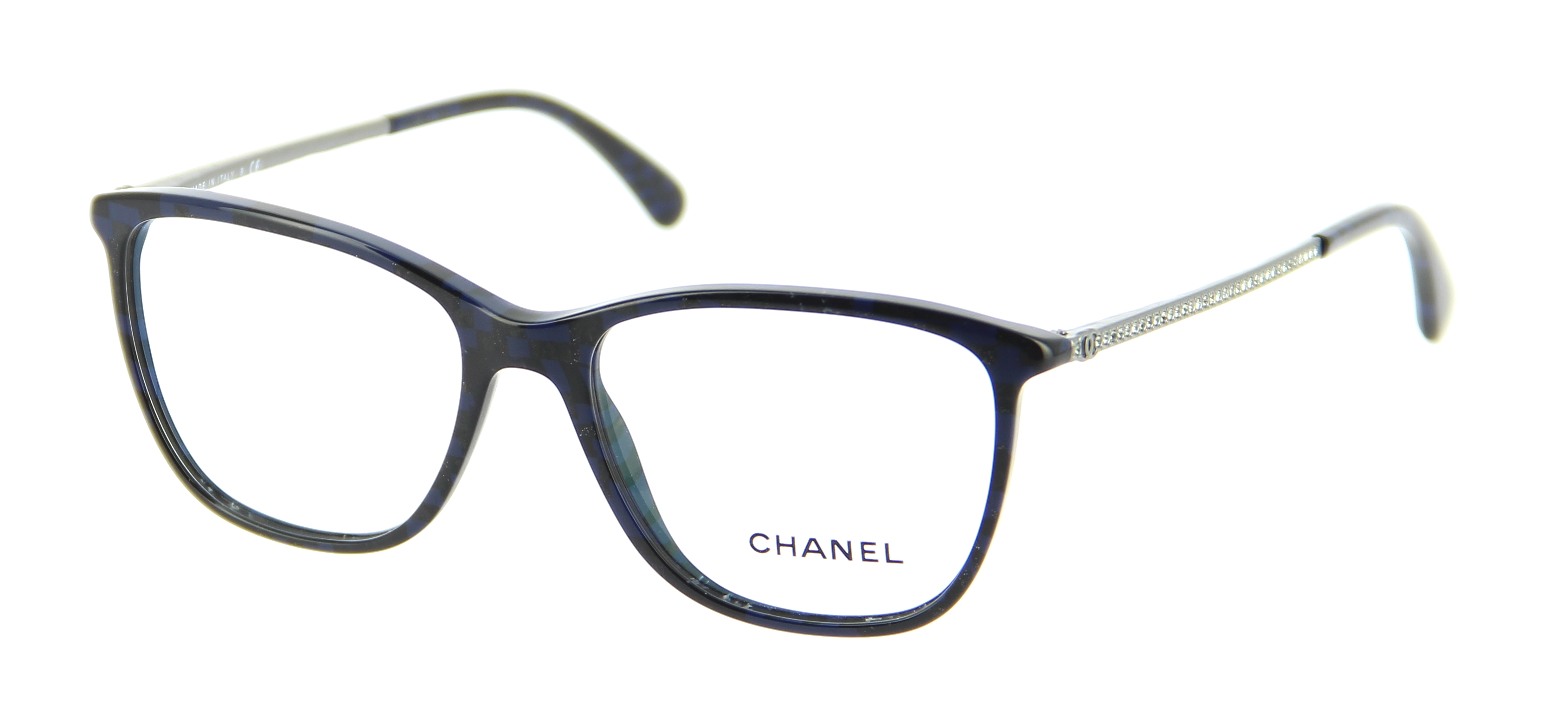 Eyeglasses Frame Chanel : Eyeglasses CHANEL CH 3294B C501 54/16 Woman Noir Oval ...