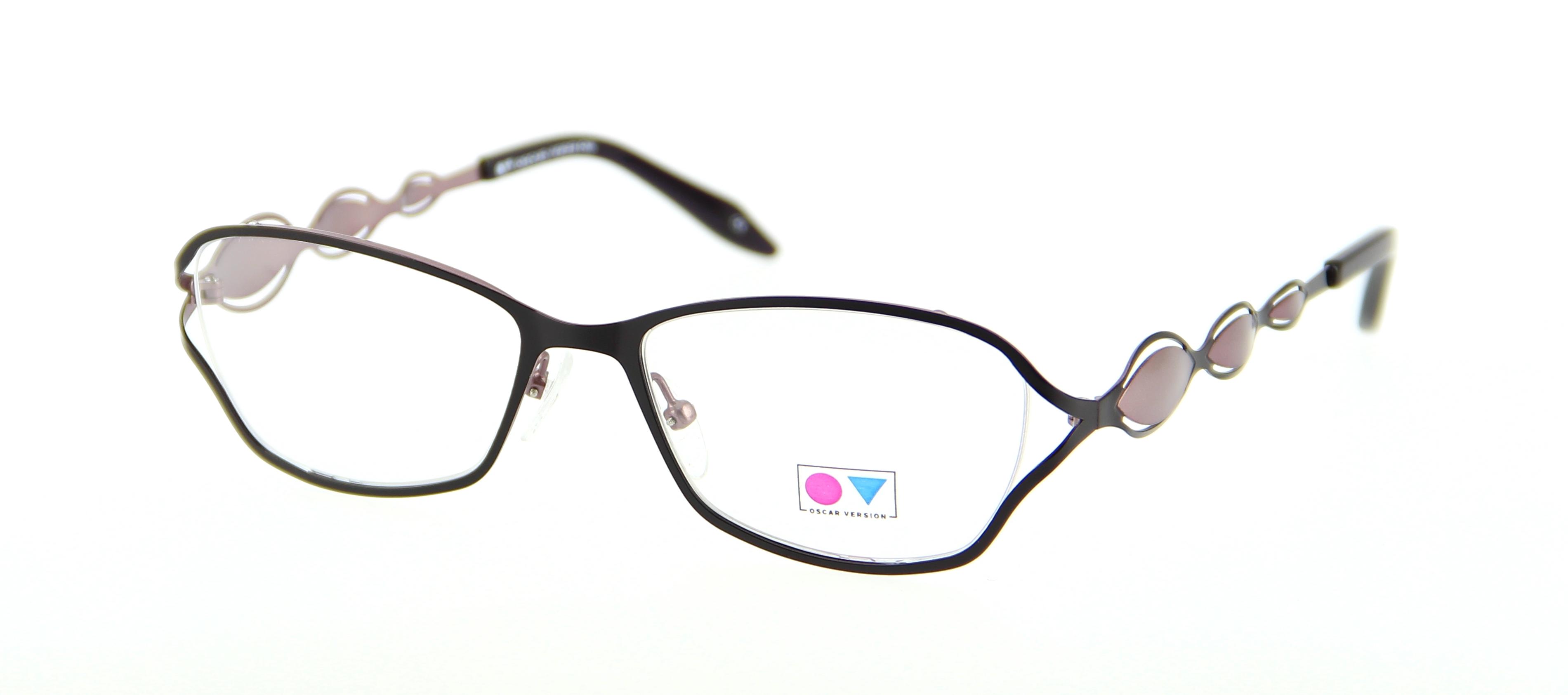 Eyeglasses OSCAR VERSION OV 1401 PRRO 52/17 Woman Prune ...