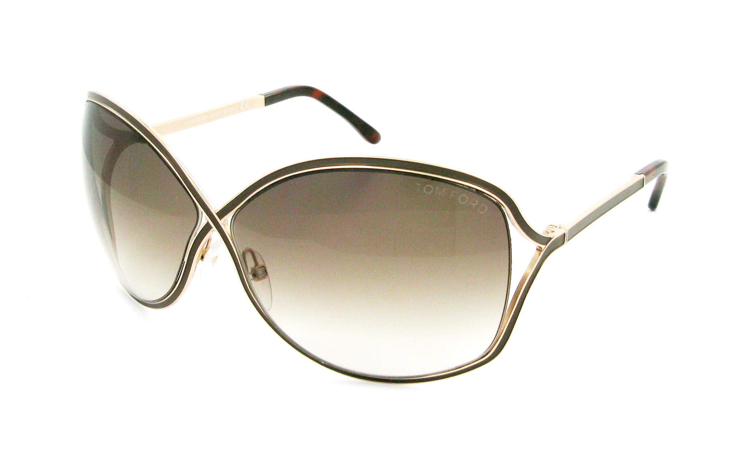lunettes de soleil tom ford ft 0179 48f 64 11 homme marron ovale nylor fashion 64mmx11mm 309. Black Bedroom Furniture Sets. Home Design Ideas